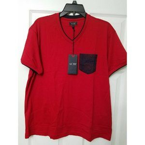AJ Armani Jeans T-Shirt in Red Navy Packe 2XL